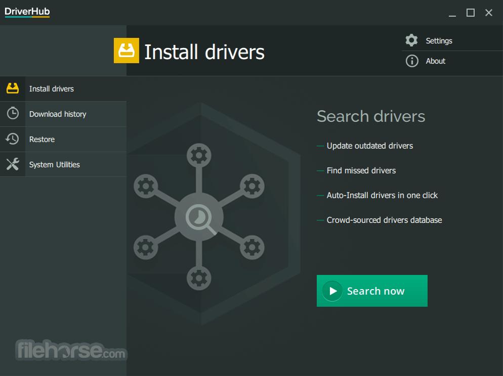 DriverHub 1.1.2 Screenshot 1