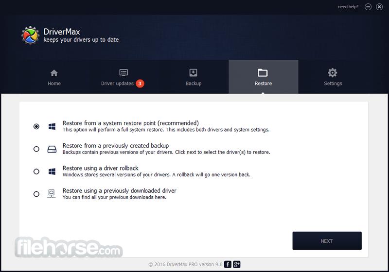 DriverMax 9.43 Screenshot 4