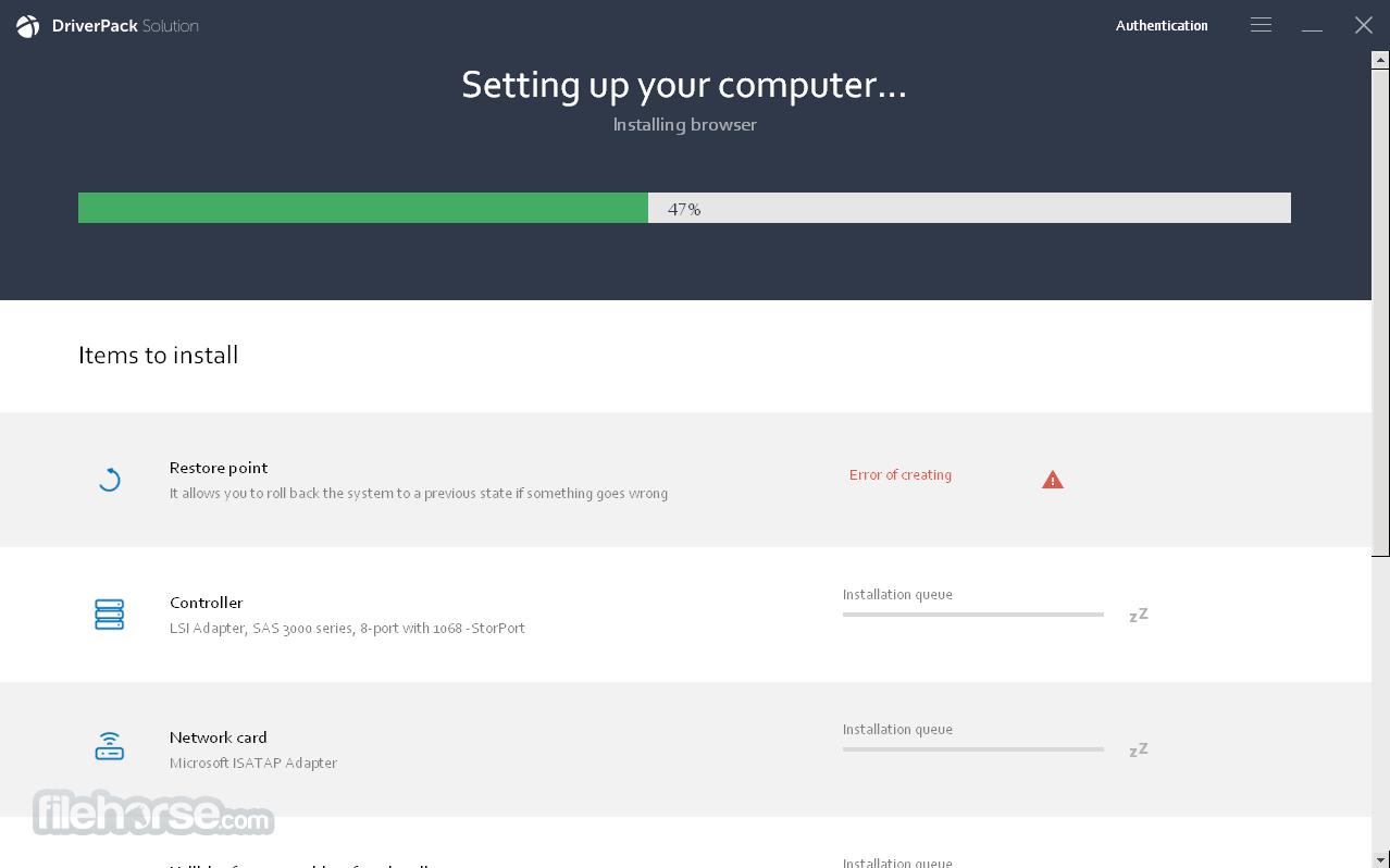 DriverPack Network 17.10.14 Screenshot 2