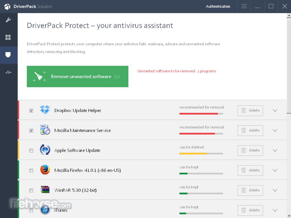 DriverPack Network 17.7.73 Screenshot 5