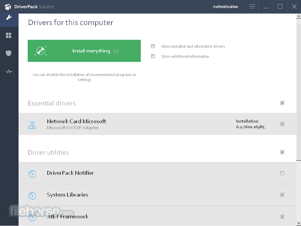 DriverPack Solution Online 17.7.114 Screenshot 4