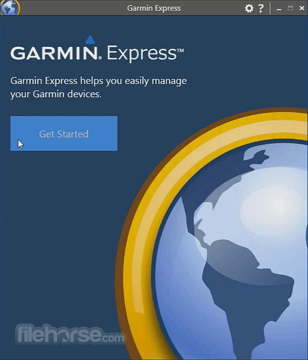 Garmin Express 6.0.0.0 Screenshot 1