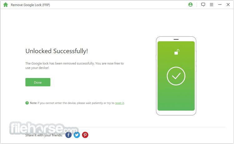 iMyFone LockWiper (Android) 4.7.0 Screenshot 3