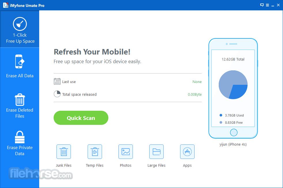 iMyFone Umate Pro 5.5.0 Captura de Pantalla 1