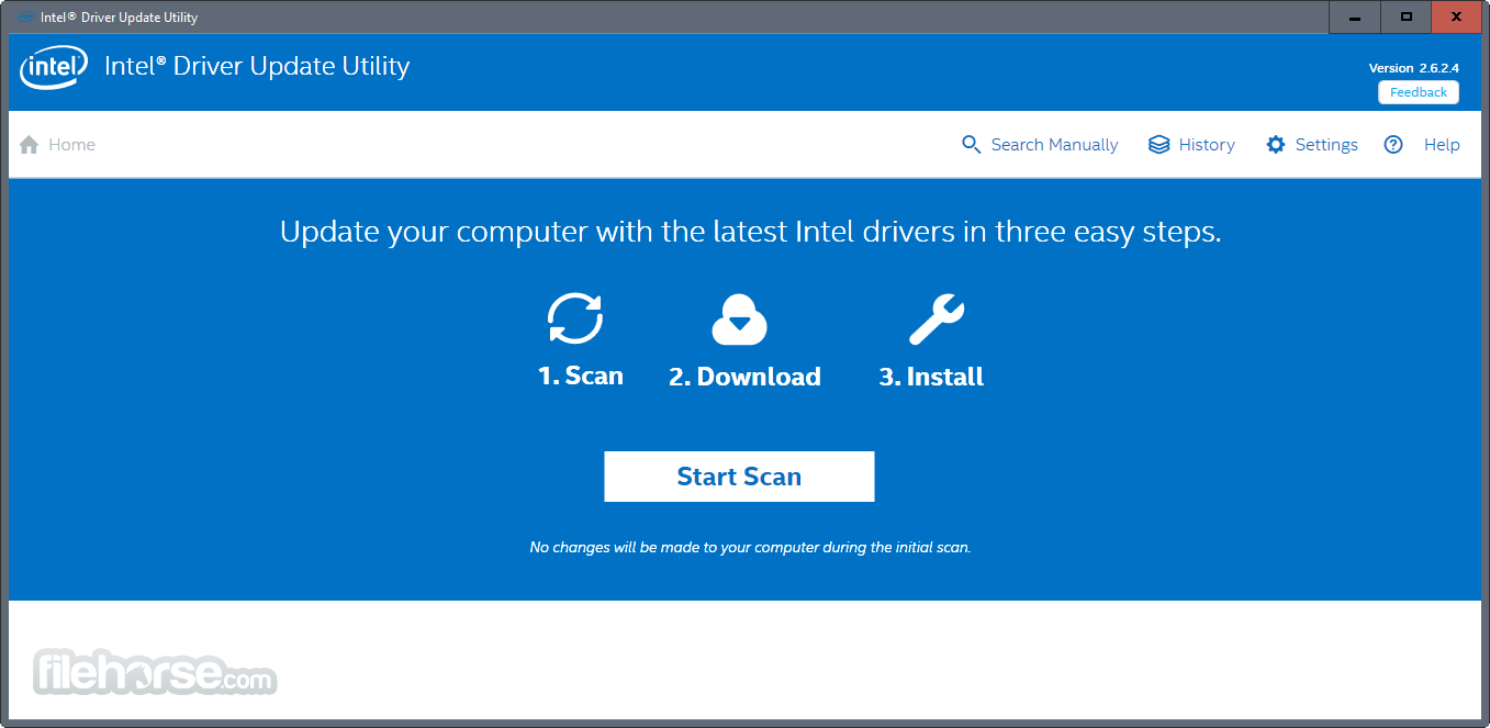 Intel Driver Update Utility 3.4.0.4 Captura de Pantalla 1