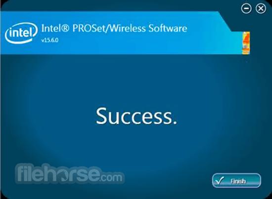 Intel PROSet/Wireless Software 20.10.2 (Windows 10 64-bit) Captura de Pantalla 3