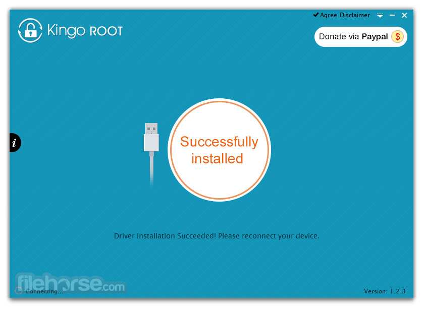 Kingo Android Root 1.5.8 Build 3353 Captura de Pantalla 1