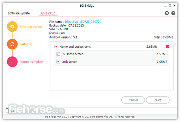 LG Bridge 1.2.42 Screenshot 3