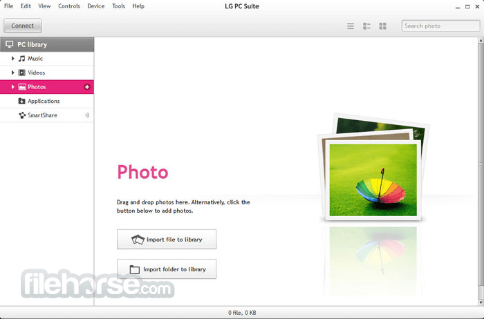LG PC Suite 5.3.27 Screenshot 3
