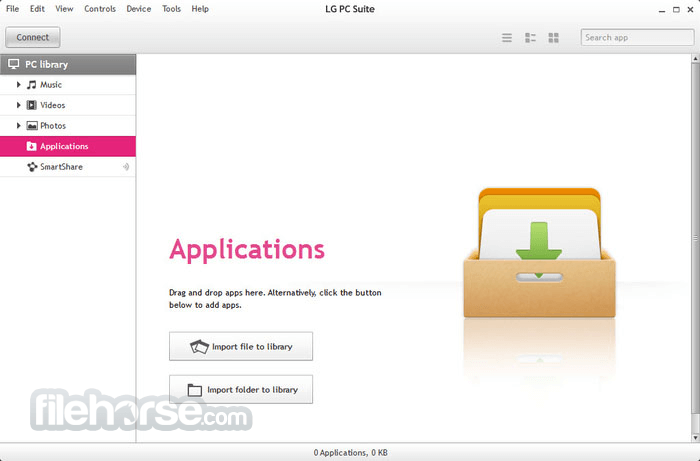 LG PC Suite 5.3.25 Screenshot 4