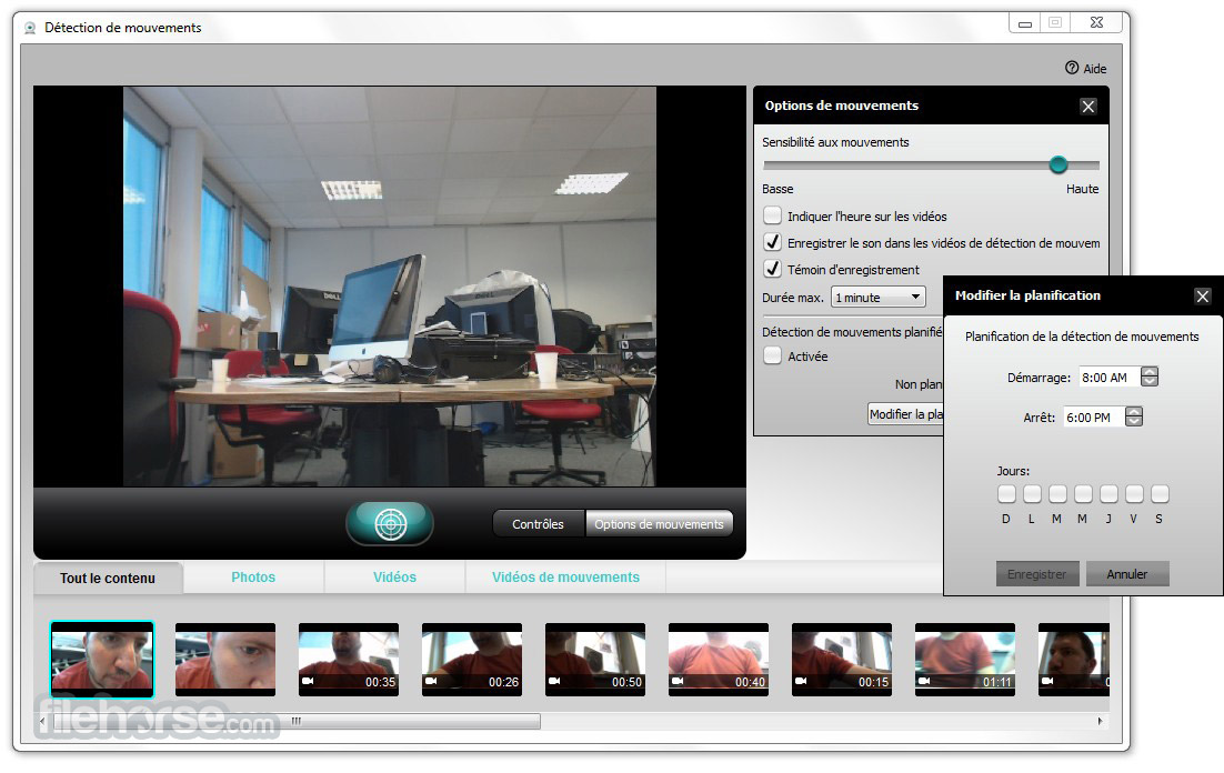 Logitech webcam software download.
