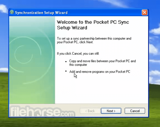 activesync 4.5 pour windows 7