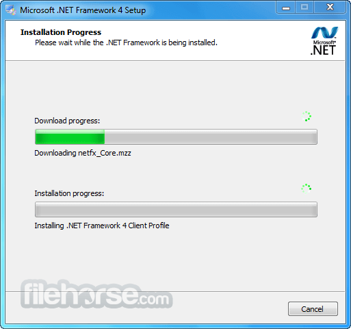 .NET Framework Version 3.5 SP1 Captura de Pantalla 2