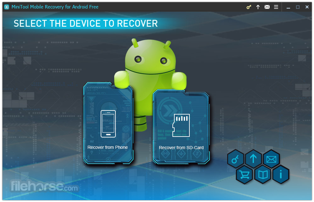 MiniTool Mobile Recovery for Android Free 1.0 Captura de Pantalla 1