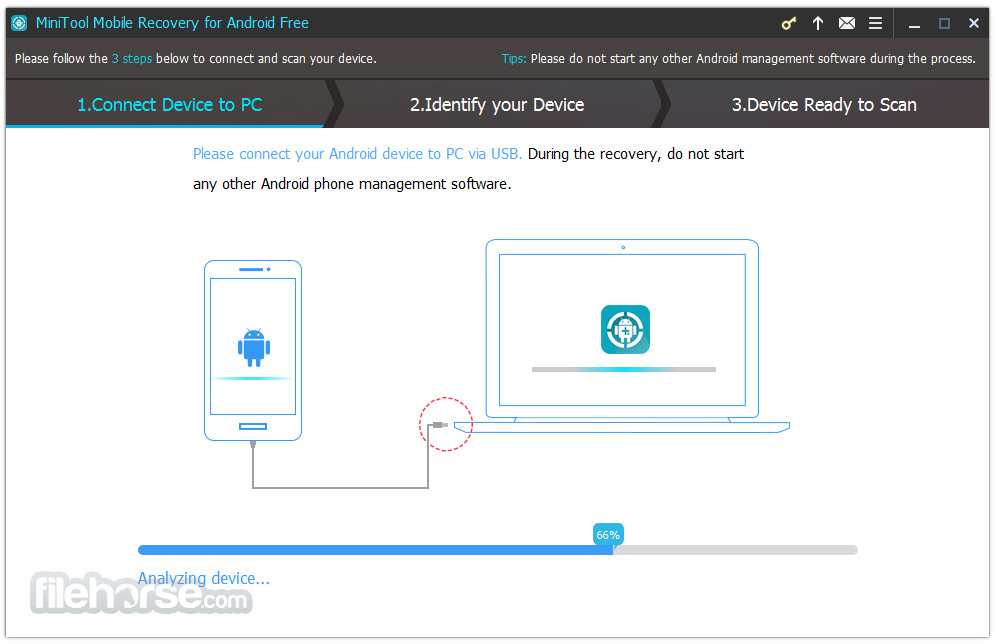 MiniTool Mobile Recovery for Android Free 1.0 Screenshot 3