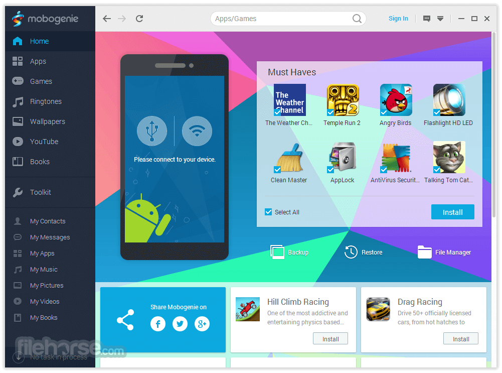 Mobogenie apk for android {5. 1} {4. 4. 4} {4. 2. 2} {6. 0. 1} free.