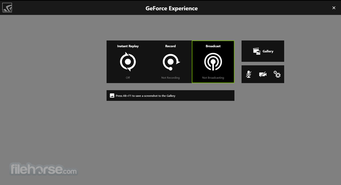 NVIDIA GeForce Experience 3.13.1.30 Captura de Pantalla 3