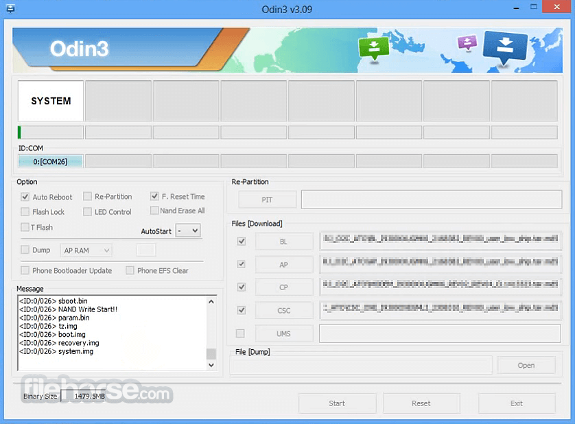 Odin3 3.13.1 Screenshot 1