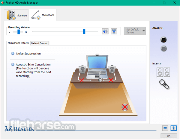 Realtek High Definition Audio 2.82 (64-bit) Screenshot 4
