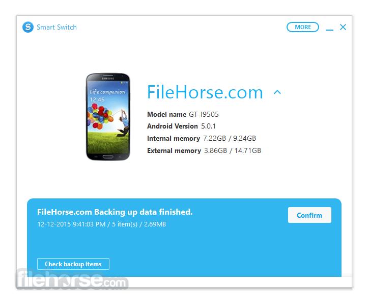Samsung Smart Switch 4.0.15113_12 Download for Windows / FileHorse.com