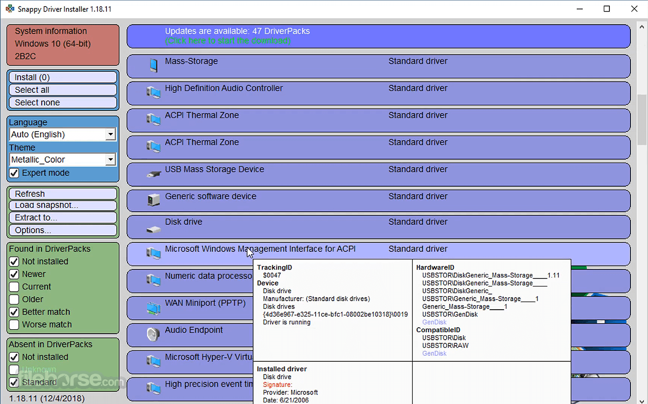 Snappy Driver Installer Lite 1.20.9 Screenshot 3