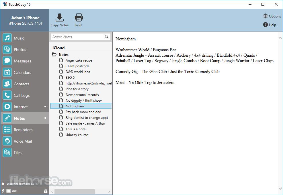 TouchCopy 16.68 (64-bit) Screenshot 5
