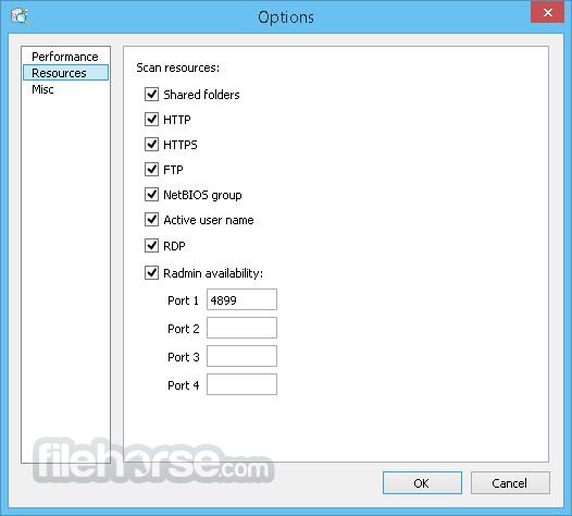 Advanced Port Scanner 2.5.3869 Screenshot 5