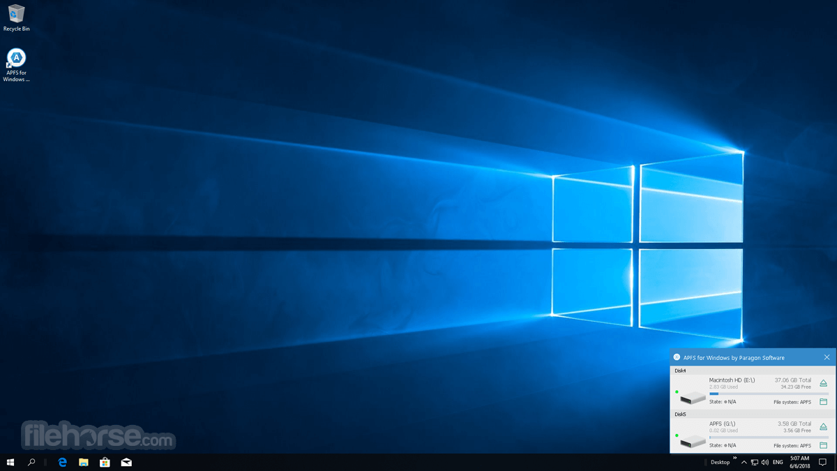 APFS for Windows 2.1.97 Screenshot 4