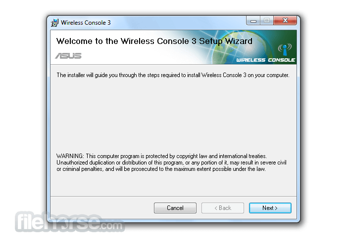 Download  ASUS Wireless Console for Windows free 2021