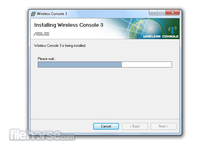 ASUS Wireless Console 3.0.19 Screenshot 4