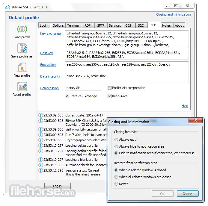 bitvise ssh client