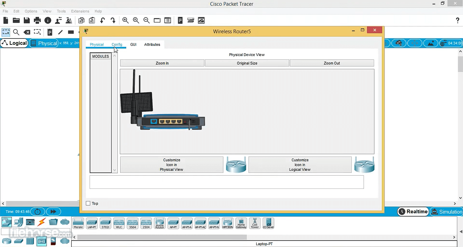 Cisco Packet Tracer 7.0 (32-bit) Captura de Pantalla 2