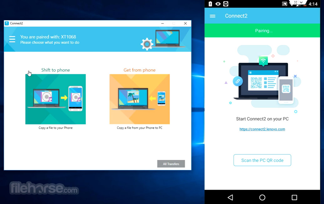 Connect2 4.2.5.4885 Screenshot 2