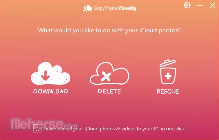 CopyTrans Cloudly 3.010 Screenshot 1