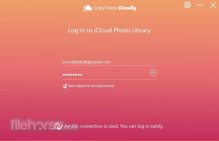 CopyTrans Cloudly 3.010 Screenshot 2