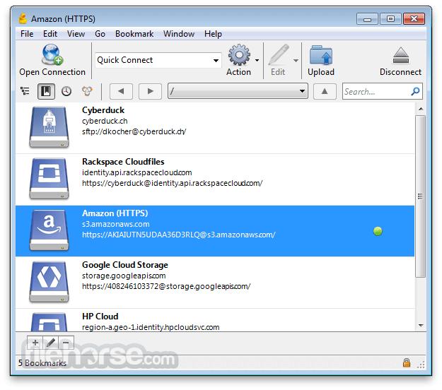 Cyberduck for Windows 6.3.5 Captura de Pantalla 1