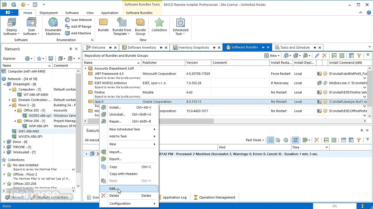 EMCO Remote Installer 6.0.8 Screenshot 2