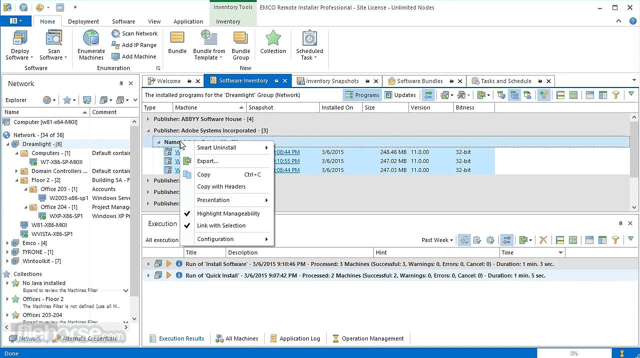 EMCO Remote Installer 6.0.8 Screenshot 4