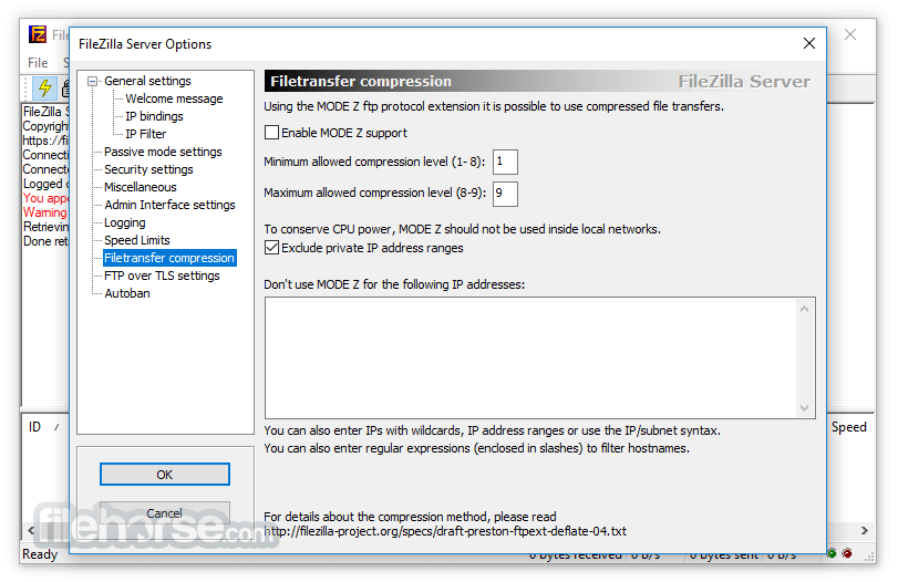 FileZilla Server Download (2020 Latest) for Windows 10, 8, 7