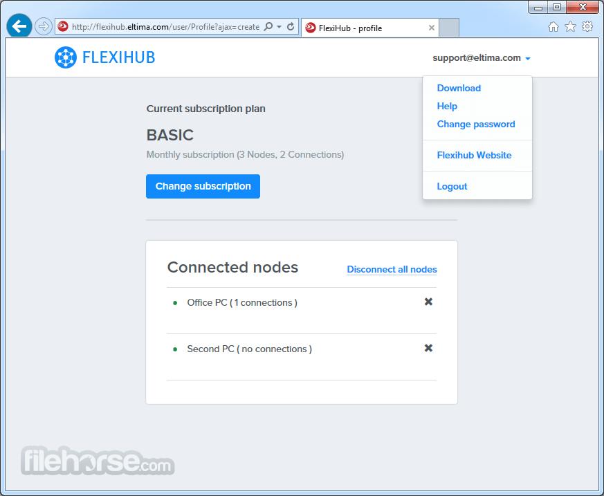 FlexiHub 5.1.13941 Captura de Pantalla 3