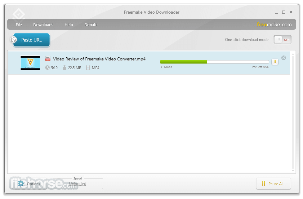 Freemake Video Downloader 3.8.2.1 Captura de Pantalla 2