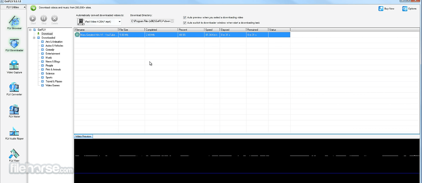 GetFLV 22.2020.5588 Screenshot 5