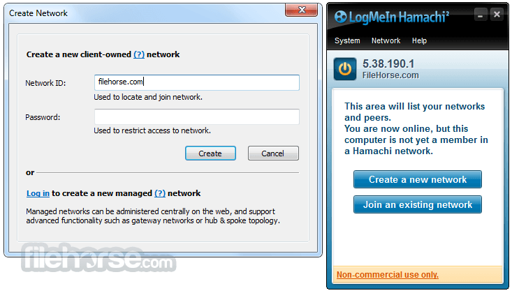 logmein hamachi windows 8