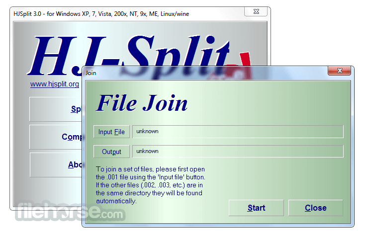 HJSplit 3.0 Screenshot 3