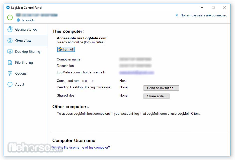 LogMeIn Pro 4.1.11066 Screenshot 2