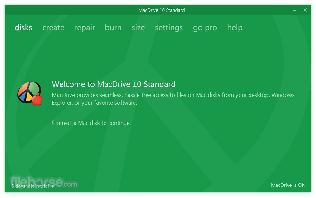 MacDrive Standard 10.5.4.9 Screenshot 1