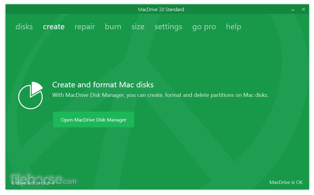 MacDrive Standard 10.5.4.9 Screenshot 2