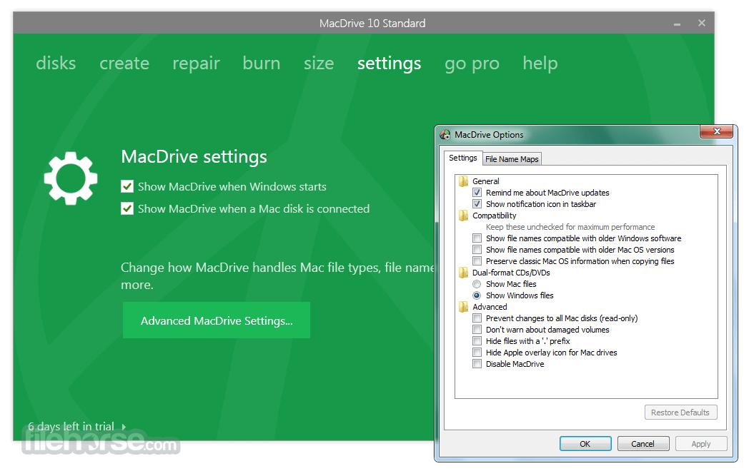 MacDrive Standard 10.5.4.9 Captura de Pantalla 5