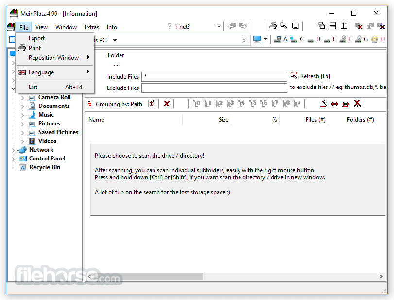 MeinPlatz 5.01 (64-bit) Captura de Pantalla 3