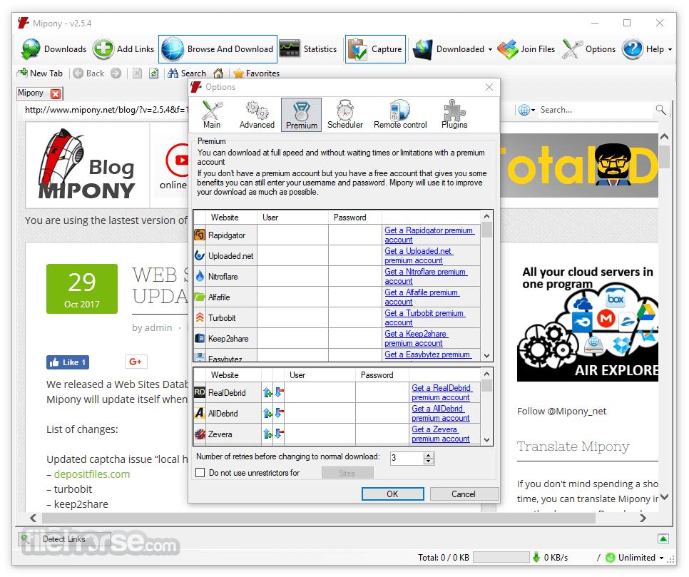 Mipony 3.1.0 Screenshot 3